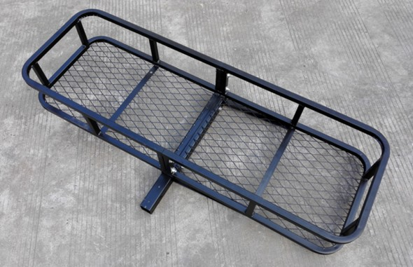 Hitch mount cargo carrier RS01B