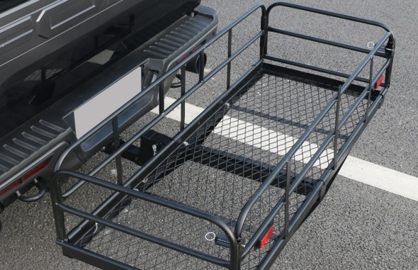 Hitch mount cargo carrier RS03B