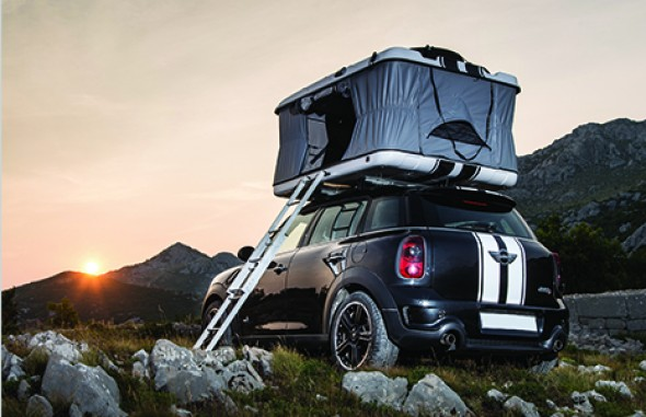 Hard Shell Pop Roof Tent Camping Rack RX82